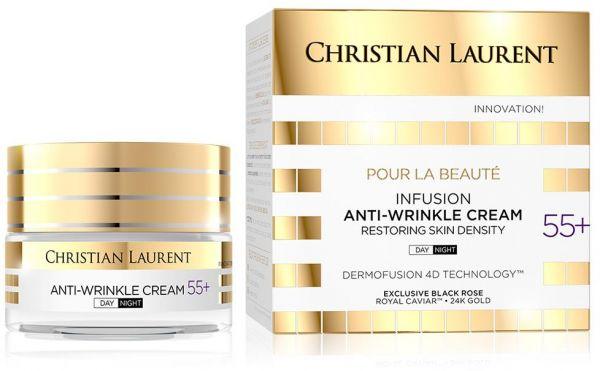 كريستيان لوران - كريم الليل والنهار لإستعادة كثافة الجلد والمضاد للتجاعيد +55 50 مل