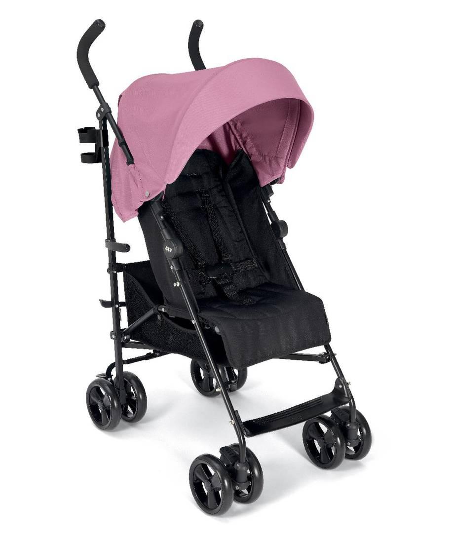 عربة أطفال كروز - وردي