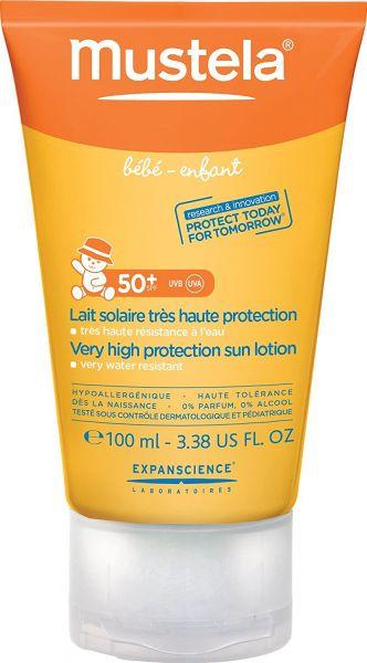لوشن للحماية العالية من الشمس 50+ للاطفال من موستيلا، 100 مل