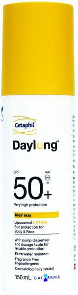 سيتافيل دايلونج للأطفال لوشن للوقاية من الشمس بمعامل حماية من الشمس 50+, 150 مل