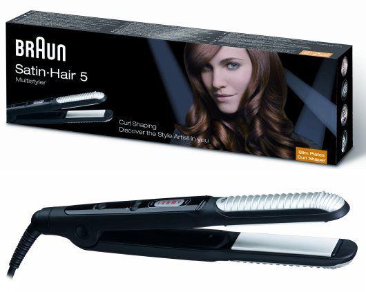 تسوق مكواة الشعر ساتين هير 5 من براون بأفضل الأسعار