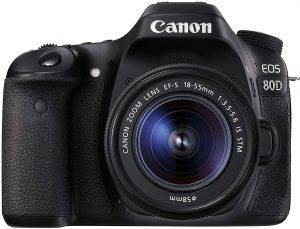 كاميرا كانون 80D